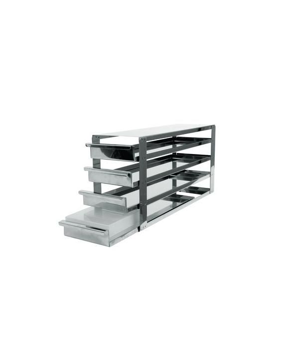 Rack pour cong lateur vertical avec tiroirs coulissants - Fabriquer tiroir coulissant ...
