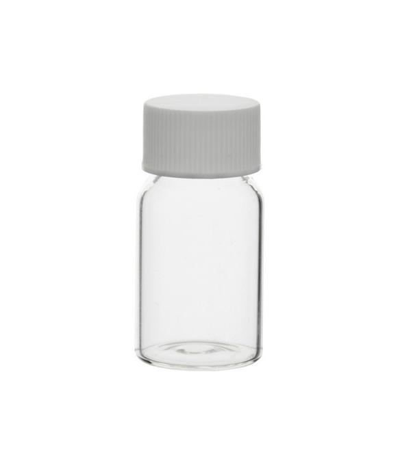 fiole en verre transparent pour chantillon labmaterials. Black Bedroom Furniture Sets. Home Design Ideas