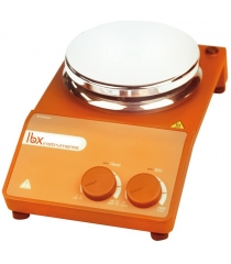 Magnetic stirrer with heating and ceramic coated plate, LBX H20 series, 20 L