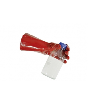 Gant anti-acide en PVC