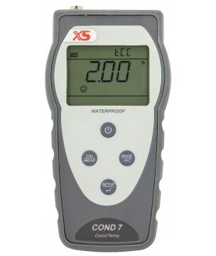 """Thermomètre portable modèle Temp 7 Pt100"