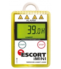 Thermo data logger with internal temperature and humidity sensor