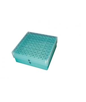 Cryoboîte congelable en PP, avec couvercle numéroté