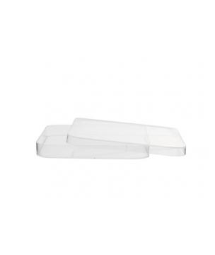 Boîte de pétri 120 x 120 mm en polystyrène