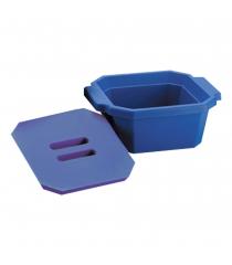 Ice bucket with lid, polyurethane