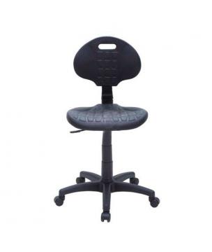Chaise haute de laboratoire avec repose-pieds