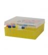 Cryoboîte congelable en PP, avec couvercle à charnière