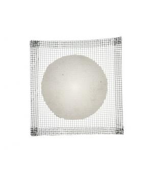 Grille métallique avec disque en fibre de céramique