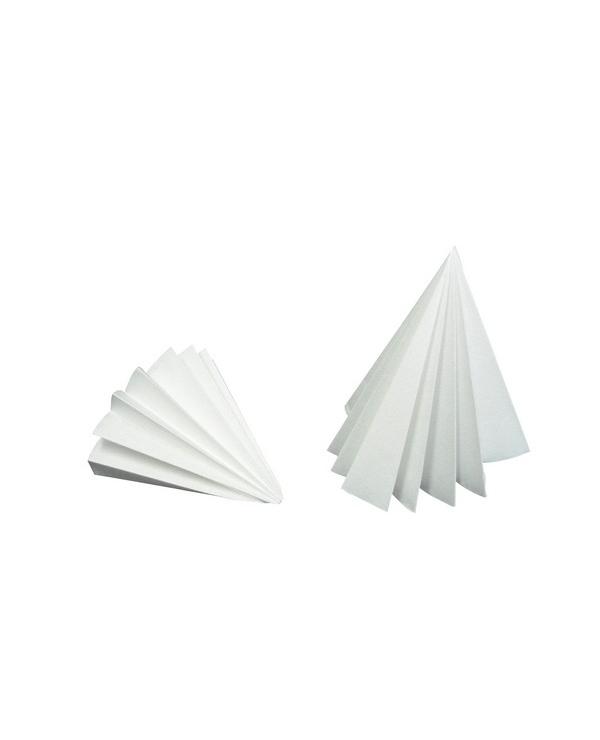300 Pi/èces Papier Filtre Qualitatif 11 cm de Diam/ètre Papier Filtre Rond Papier Filtre /à Vitesse Moyenne Disques Cercles avec 15-20 um R/étention de Particules pour Fourniture de Laboratoire